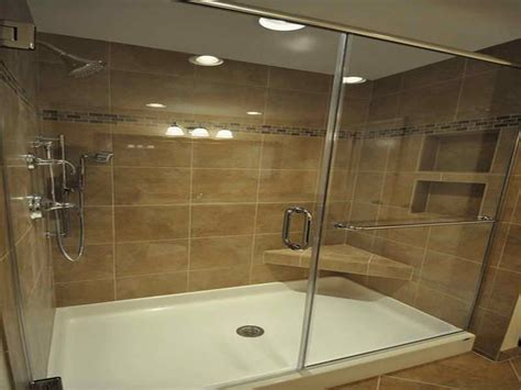 Bathroom Shower Pans Bathroom Remodeling Ideas For Applying Fiberglass Shower Pan For Bathroom Walk In Shower Pan