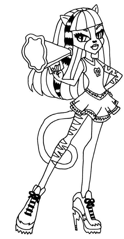 monster high dracubecca coloring pages dibujos para pintar de purrsephone y meowlody