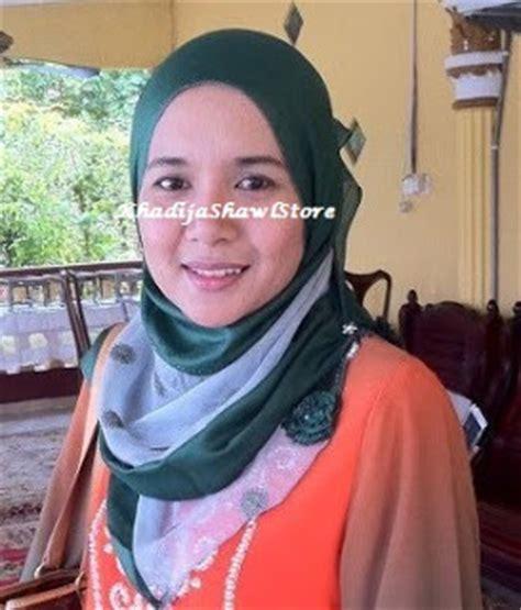 Pashmina Satin Arzu is great live alive tudung arzu murah