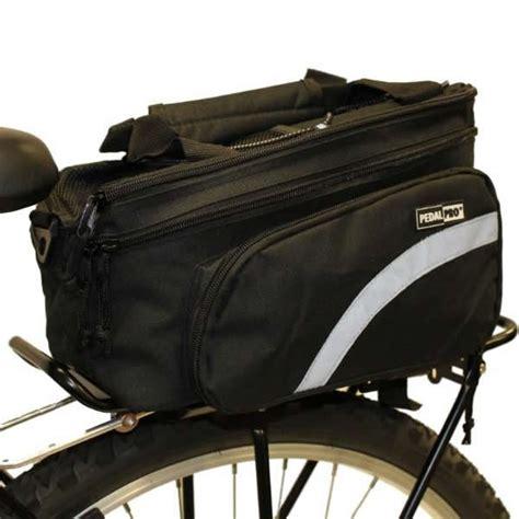 pedalpro bicycle rear rack pack pannier bag storage