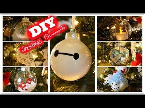 diy christmas ornaments youtube