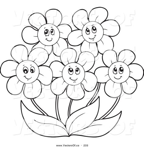 clipart of flowers coloring pages may flowers coloring clipart