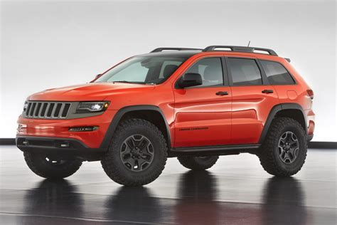 jeep grand cherokee custom jeep makes six concepts for the 47th annual moab easter safari