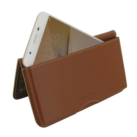 Mofi Leather Samsung Galaxy On7 samsung galaxy on7 2016 leather wallet pouch brown
