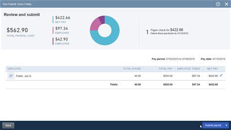 quickbooks online tutorial create a single paycheck in quickbooks online tutorial