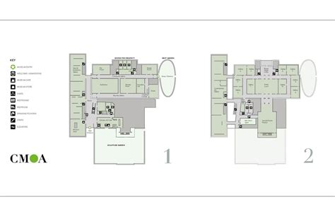Gallery Floor Plans by Gallery Of Columbus Museum Of Art Expansion And Renovation