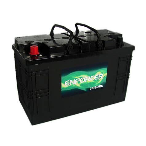 best boat battery uk enforcer leisure caravan battery 110ah 12v from county