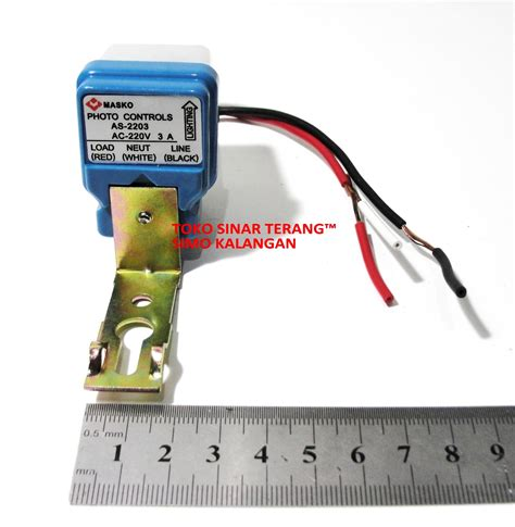 Switch Otomatis Ac Mobil jual sensor cahaya lu otomatis 3a ac 220v photo foto