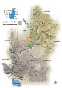 colorado river map with states the missing colorado river