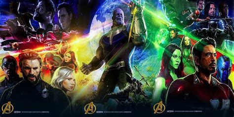 marvel s infinity war the of the marvel debuts stunning new infinity war posters