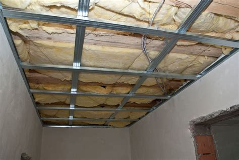 Metal Stud Ceiling Framing how to install drywall ceiling howtospecialist how to