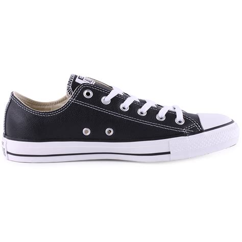 converse chuck all ox womens leather black