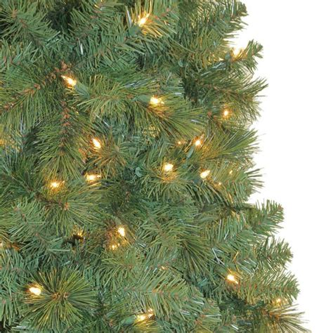 reviews home accent welsley spruce christmas tree home accents 9 ft wesley mixed spruce set artificial tree with 850