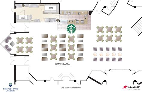 restaurant layout strategy starbucks on its way to old main other food services