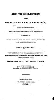 aids to reflection in the formation of a manly character on the several grounds of prudence morality and religion illustrated by select passages from archbishop leighton classic reprint ebook aids to reflection coleridge samuel taylor 1772 1834