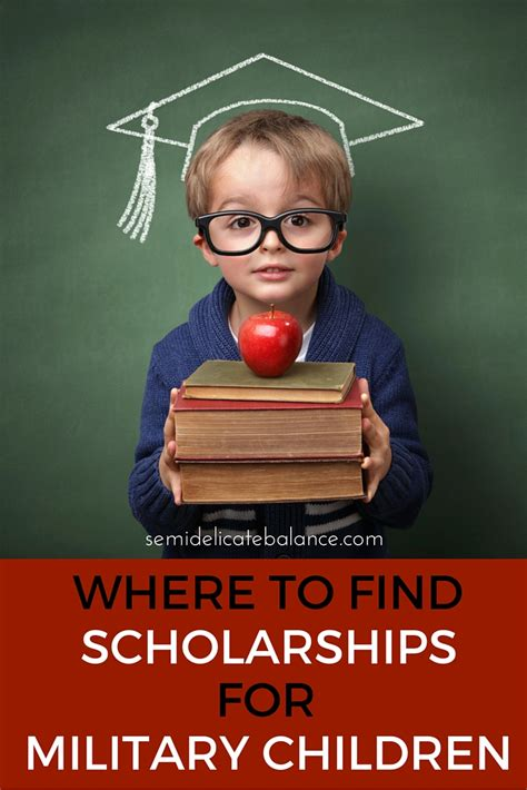 find scholarships  military children semi delicate balance