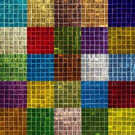 colored tiles colored glass mirror tile 15mm