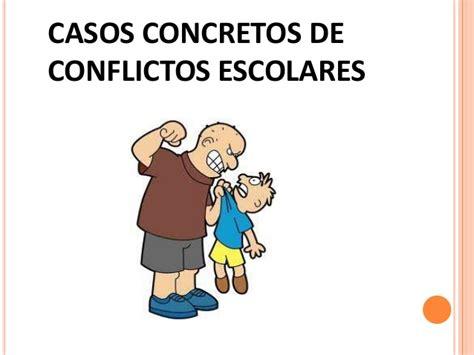 solucion de conflictos en nios conflictos en el aula