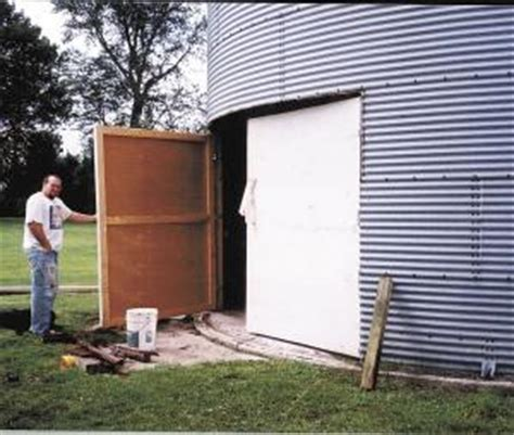 Grain Bin Shed by Farm Show Grain Bin Storage Shed