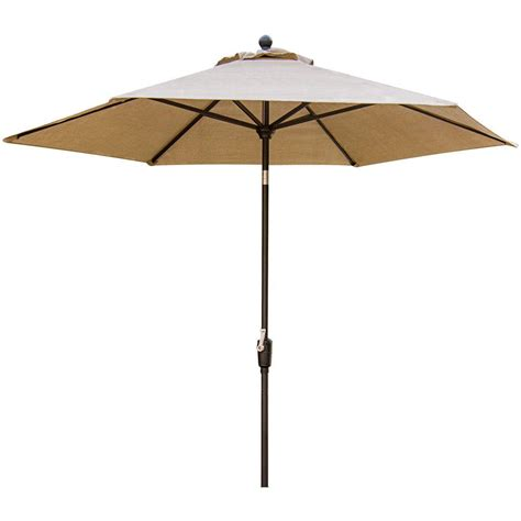 Tilting Patio Umbrella Hanover Traditions 9 Ft Tilting Patio Umbrella