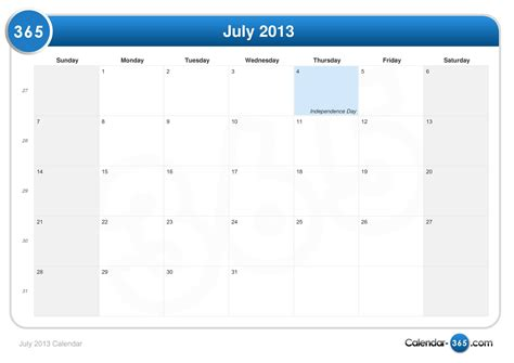 Calendar July 2013 ημερολογιο Calendar Template 2016