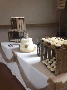 Rustic cupcake wedding cakes images
