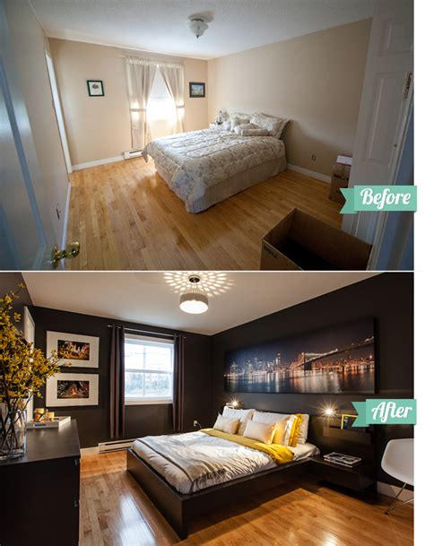 before and after bedrooms the uncommon law the master bedroom before after