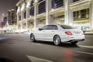 Mercedes E Class E320 Official 2017 Mercedes E Class Wheelbase Gtspirit