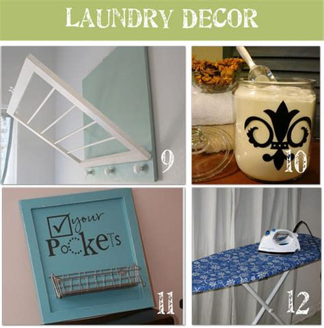 12 Ways To Beautify Your Laundry Room Tip Junkie Laundry Room Wall Decor Ideas