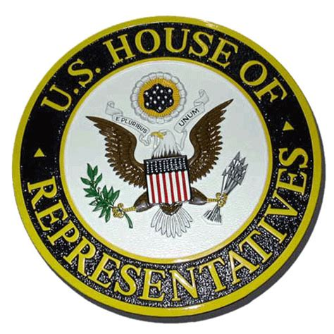 house of representatives seal custom made hand carved and painted wooden seal poduim and wall plaques