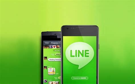 line for android line application