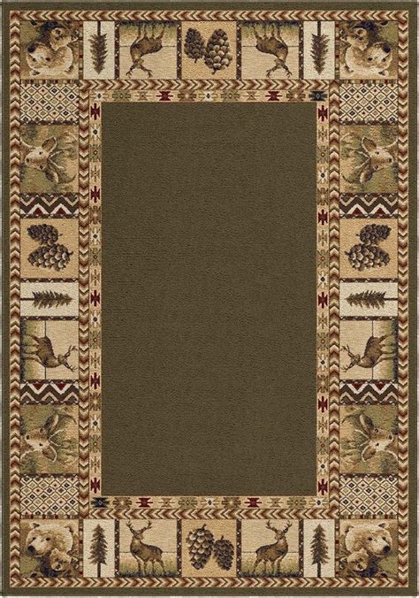 lodge style area rugs 47 best images about dollhouse log cabin on log cabin bathrooms miniature and