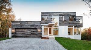 Fall Decorating Ideas - modern residence seamlessly integrating into the landscape in ottawa canada freshome com