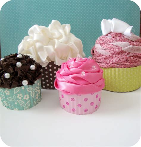 How To Make A Cupcake Out Of Paper - cupcake gift boxes no baking required one thing