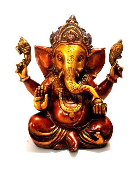 Housewarming Gifts For First Home mukut brass metal ganesh ganesha ganesha statue craftvatika