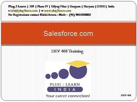 Salesforce 401 Authorstream Salesforce Powerpoint Template