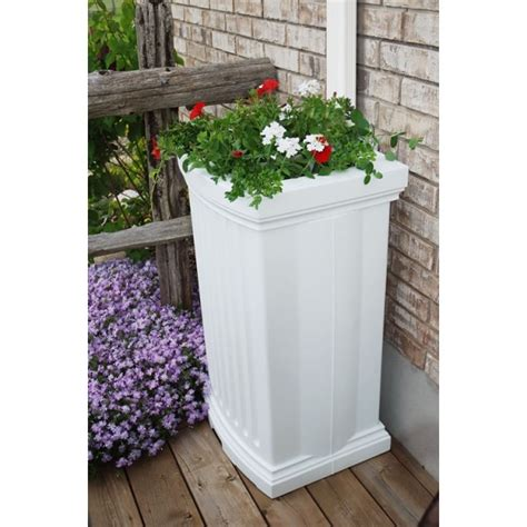 Barrel Planter Combo by Easy Install Barrel Planter Combo