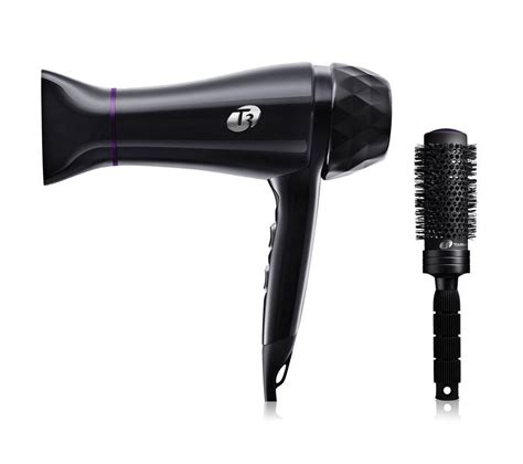Hair Dryer Laptop buy t3 featherweight luxe 2i hair dryer black free