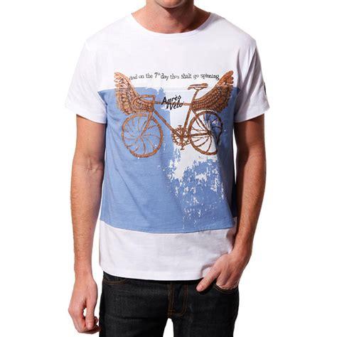 Fit Bike Co White T Shirt wiggle apres velo golden bike t shirt t shirts