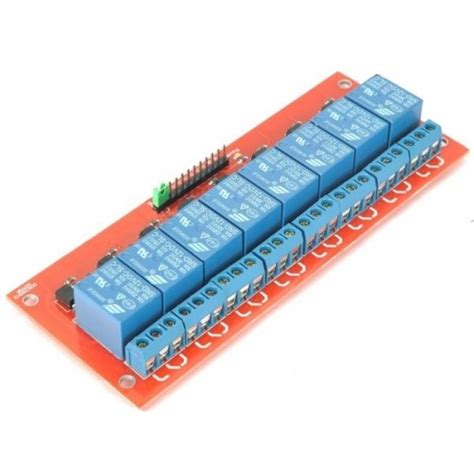 Module Isolated Relay 8 Channel Dengan Photocoupler 8 channel 5v relay module with opto isolated inputs