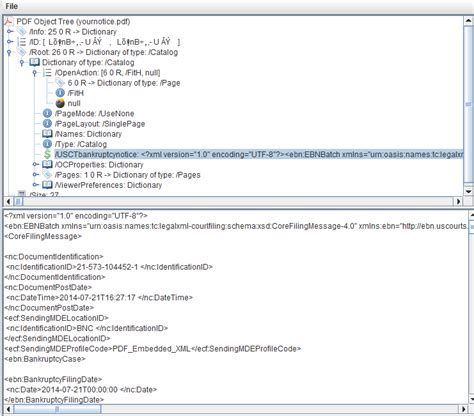 xml tutorial pdf in c net extract embedded xml from pdf with itextsharp c stack