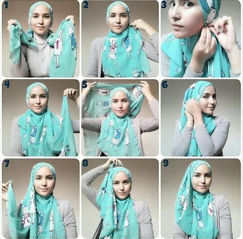 tutorial hijab gliter simple hijab tutorial from sister zahra comment easy all day