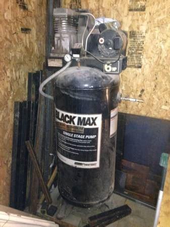 black max compressor espotted