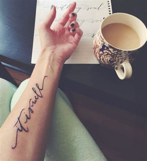 soul tattoo 25 best ideas about forearm script on