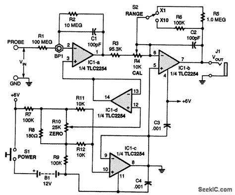 analog multimeter circuit diagram wiring diagram and