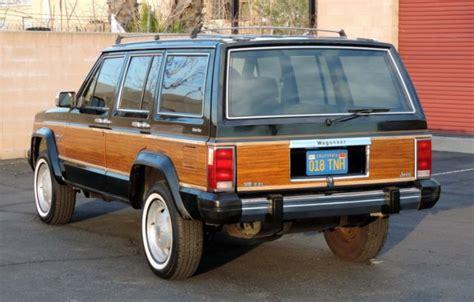 california original  jeep cherokee wagoneer limited