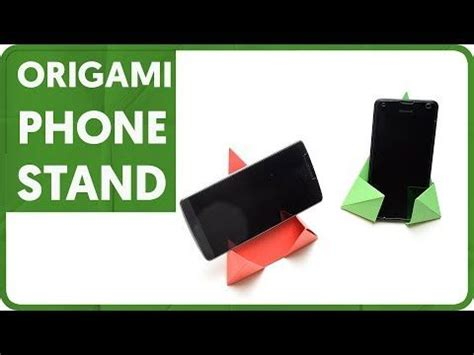 origami phone stand best 25 phone stand ideas on