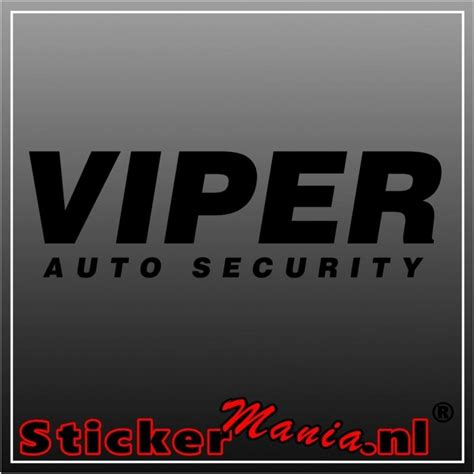 Stickermania 7 Auto by Viper Auto Security Sticker Tuning Stickermania Nl