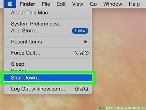 resetting macbook battery memory 3 ways to reset a macbook pro wikihow