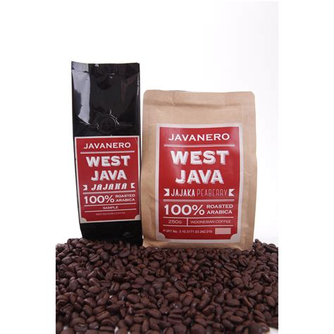 West Java Pasundan Honey javanero west java papandayan 100 arabica indonesia coffee beans nett 250gr elevenia